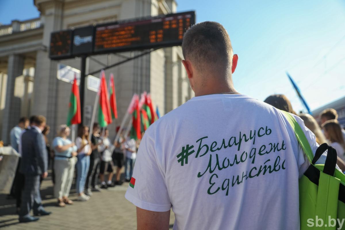 #БеларусьМолодежьЕдинство 18
