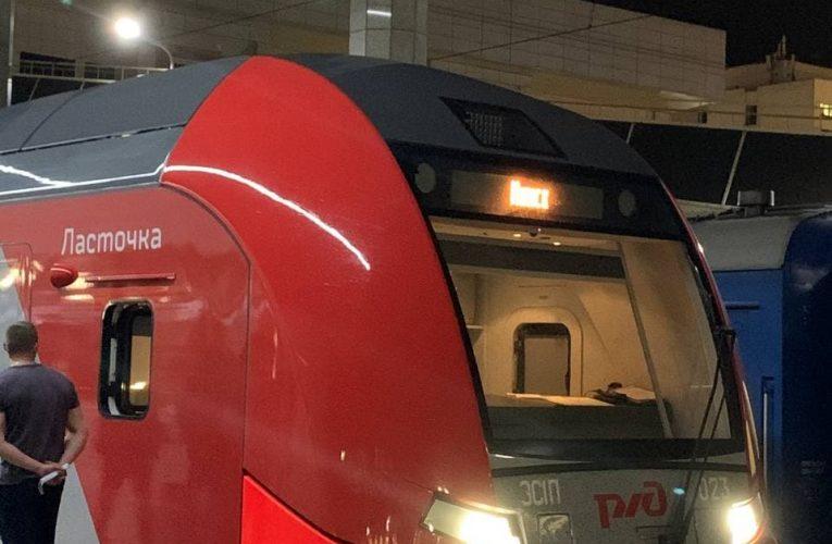 Скоростной поезд «Ласточка»
