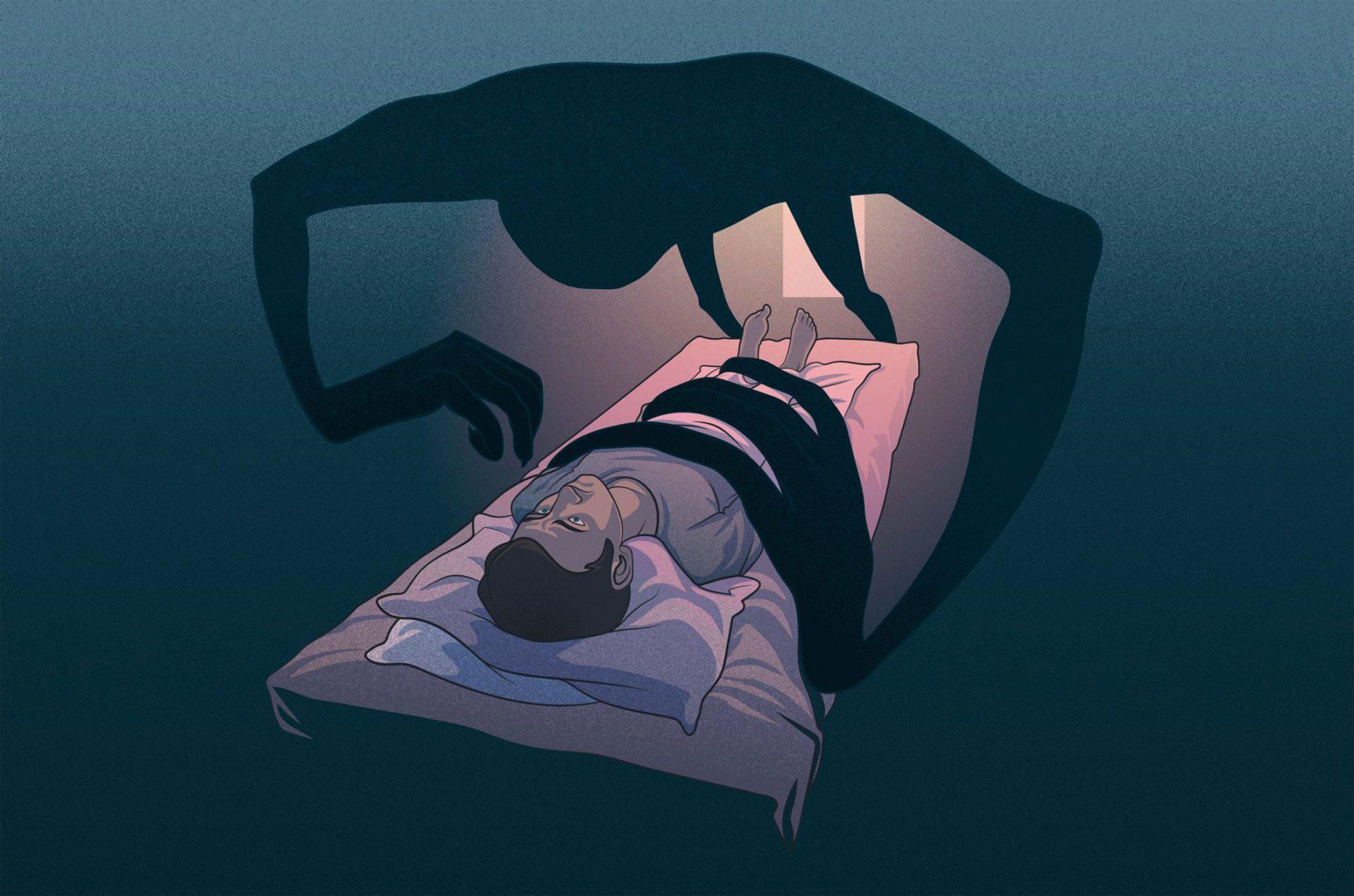 Все круги Ада за пару минут: сонный паралич 11